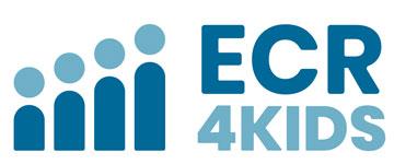 ECR4KIDS Logo in blue
