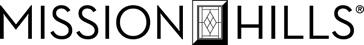 Mission Hills Logo in black